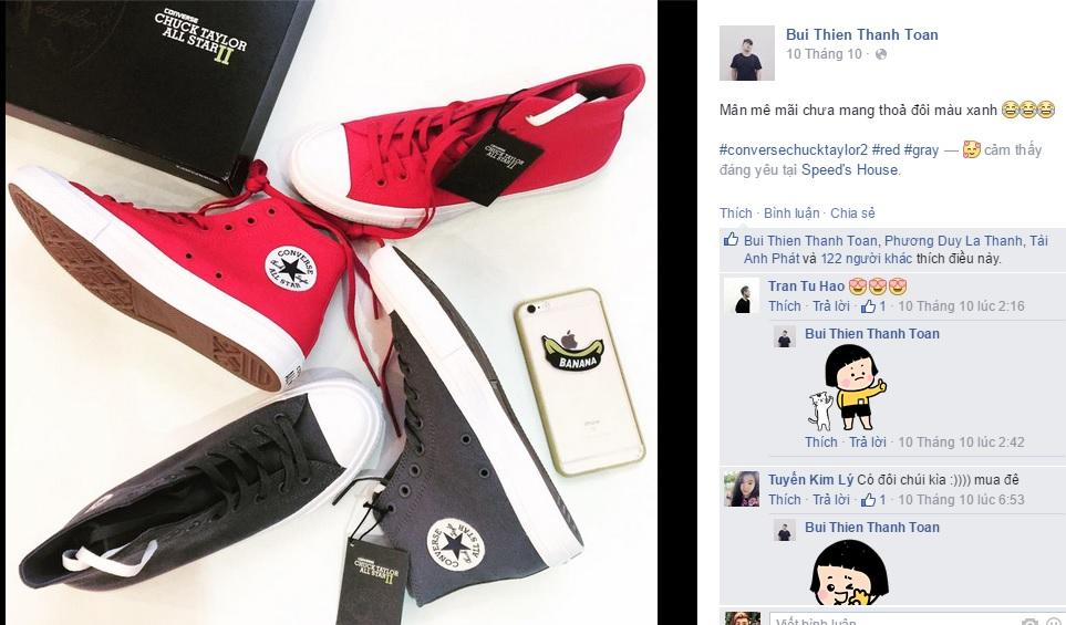 Nhiều bạn trẻ Việt phát cuồng vì đôi giày này