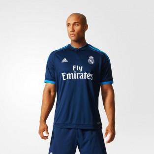 Thiết kế màu xanh nổi bật của đội Real Madrid