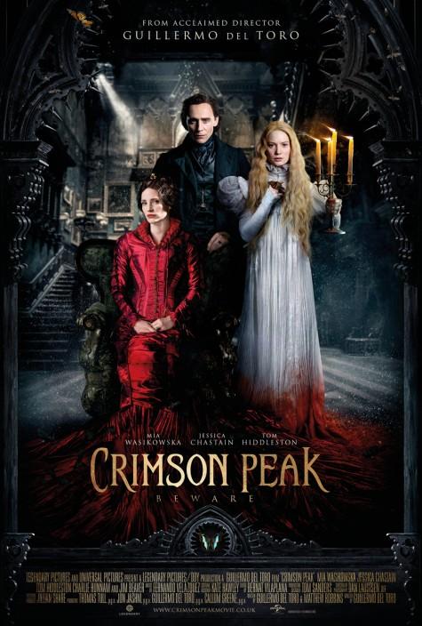 3 bộ phim điện ảnh mùa Halloween - Crimson Peak poster - elleman
