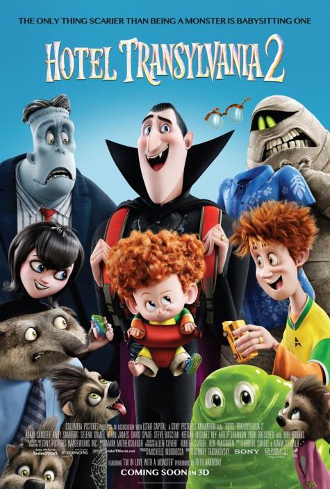 3 bộ phim điện ảnh mùa Halloween - Hotel Transylvania poster - elleman