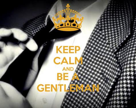 Để trở thành người đàn ông lịch lãm - keep calm and be a gentleman - elleman