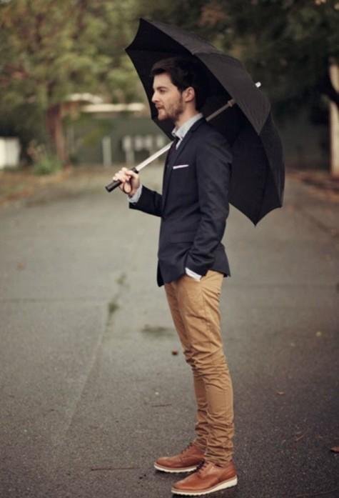 cách bảo quản giày da nam trong mùa mưa 1 - elleman