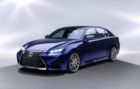 xe hoi doi moi Lexus GS F