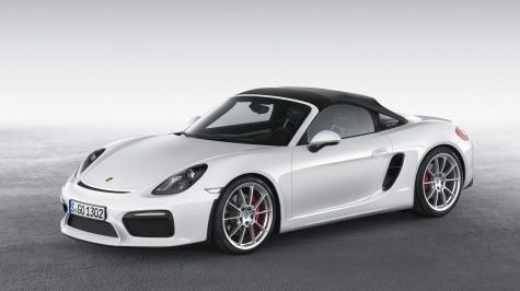 xe hoi doi moi Porsche Boxster Spyder