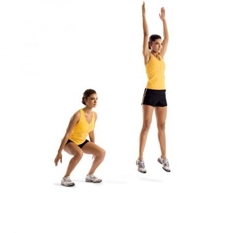các bài tập tăng chiều cao cho người trưởng thành - động tác jump spot - elleman