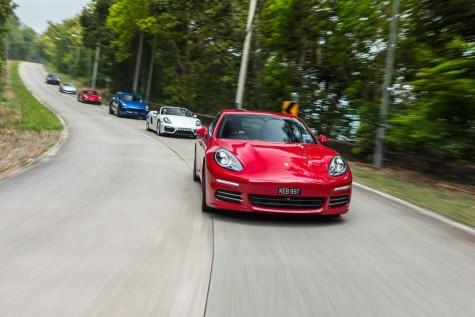 Chuyến hành trình lái thử đầy thú vị của hãng xe Porsche