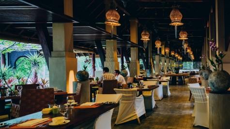 Khu vực nhà hàng tại khu Resort
