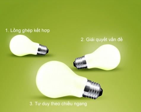 3 cách để tạo ý tưởng mới.
