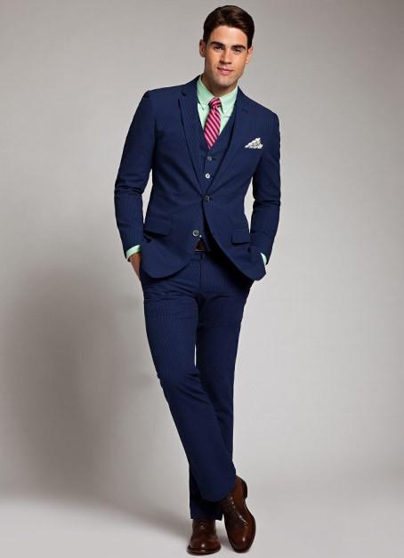 Những bộ suit ton-sur-ton là công thức hữu hiệu giúp tăng chiều cao