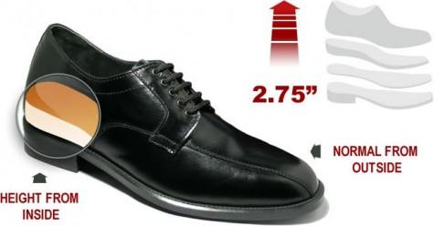 Giày tăng chiều cao là một phương án hiệu quả