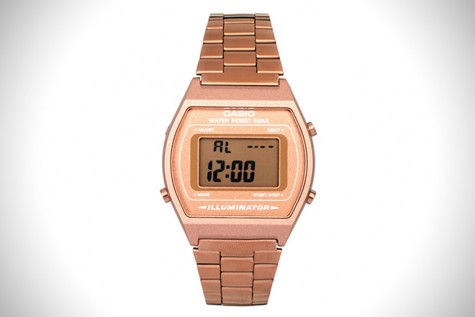 Casio Gold Rose Watch.