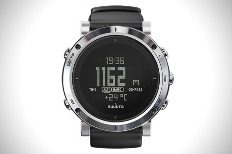 Suunto Core Brushed Steel Watch.