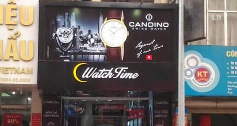 Cửa hàng Watch Time tại Hà Nội.