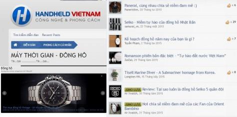 Mua đồng hồ nam chính hãng - chuyên mục Handheld Vietnam - elleman