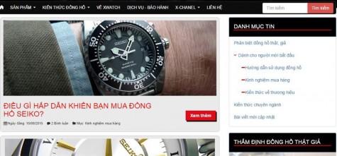 Mua đồng hồ nam chính hãng - chuyên mục kiến thức đồng hồ XWatch - elleman