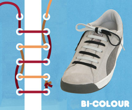 Kiểu buộc Bi-Color.