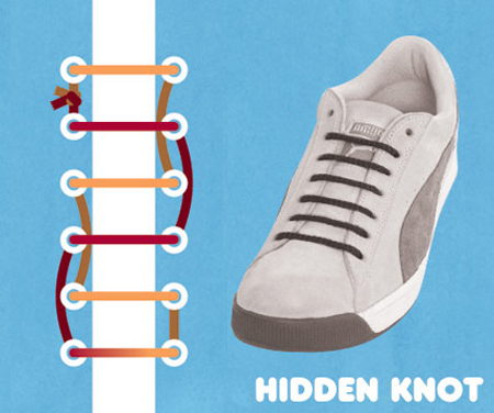 Kiểu buộc Hidden Knot.