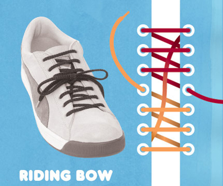 Kiểu buộc Riding Bow.