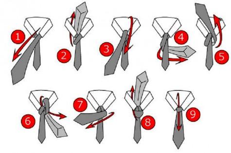 những cách cơ bản thắt cà vạt đẹp - cách thắt cà vạt kiểu cổ điển - elleman