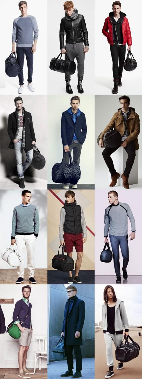 Túi xách dạng thùng cũng có thể ton-sur-ton cùng nhiều phong cách