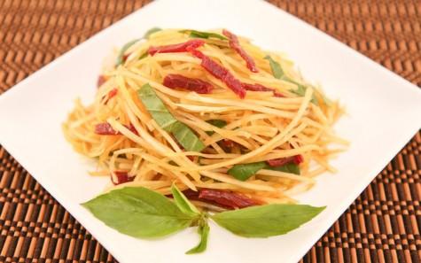 văn hóa ẩm thực Đông Nam Á - gỏi đu đủ - elleman