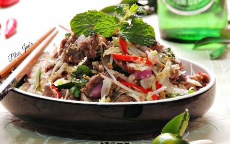văn hóa ẩm thực Đông Nam Á - gỏi trộn - elleman