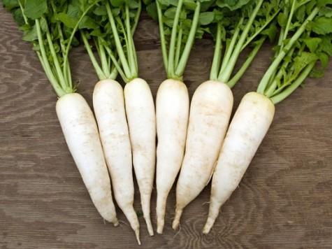 Củ cải trắng cung cấp nhiều vitamin cho da
