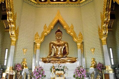 Pho tượng Vàng khối lớn nhất thế giới
