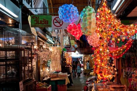 Chatuchak được xếp vào những khu chợ trời lớn nhất thế giới