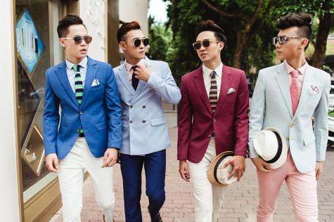Vest nam theo phong cách Ý dẫn đầu xu thế thời trang