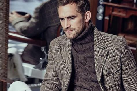 Cách phối hợp quần áo chất liệu Tweed cho mùa Đông