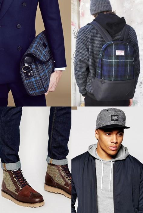 cách phối hợp quần áo với vải tweed - phụ kiện - elleman