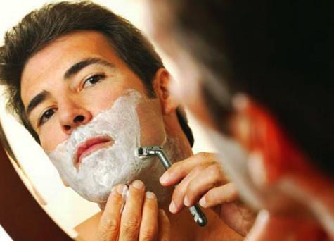 mẹo trị mụn hiệu quả cho nam giới - shaving beard - elleman