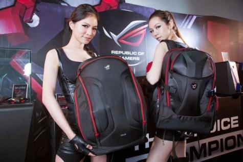 balo laptop cực đẹp dành cho sinh viên và game thủ - asus ROG Nomad 1 - elleman