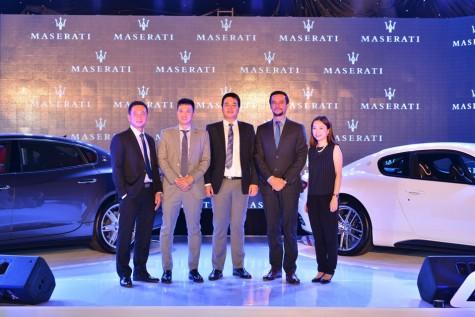 Xe hơi thể thao Maserati chính thức ra mắt tại Việt Nam