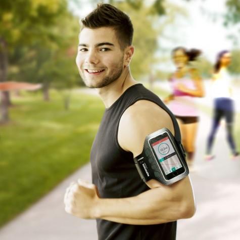 phụ kiện thể thao công nghệ cao - đeo tay điện thoại - elleman
