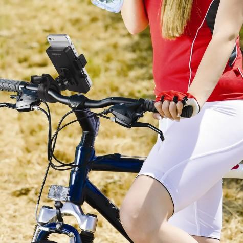 phụ kiện thể thao công nghệ cao - giá đỡ điện thoại cho xe đạp - elleman