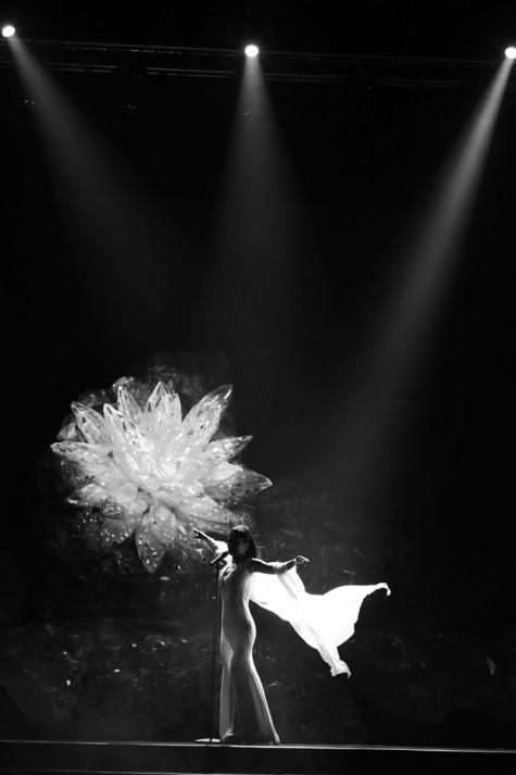 Những khoảnh khắc cống hiến hết mình của người nghệ sĩ trên sân khấu lớn đều được anh khắc họa lại một cách đầy nghệ thuật
