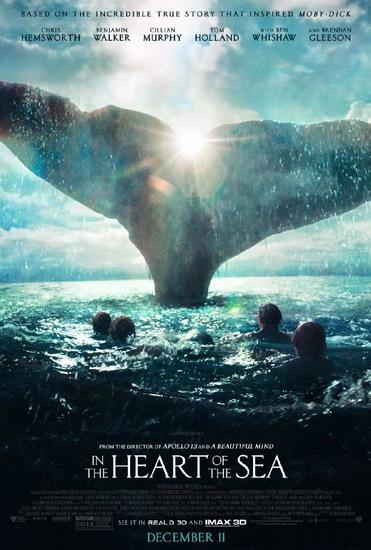 10 bộ phim điện ảnh mùa lễ hội 2015 - IN THE HEART OF THE SEA - elle vietnam