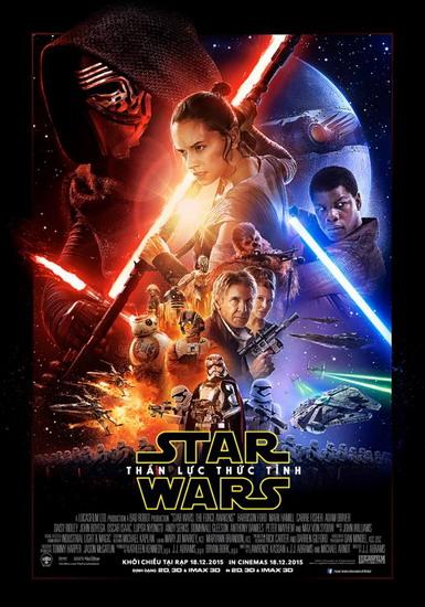 10 bộ phim điện ảnh mùa lễ hội 2015 - Star Wars - elle vietnam