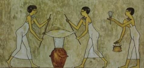 người Ai Cập cổ đại đã biết dùng nước hoa cho vùng dưới cánh tay