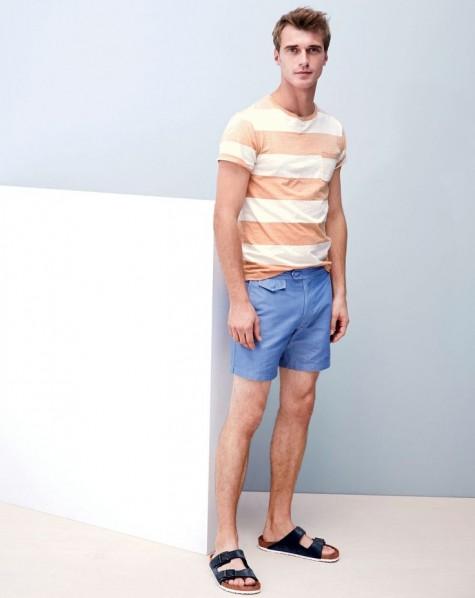 Dép nam đẹp-sandals vs short luxe