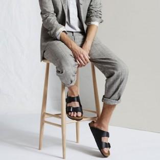 5 cách đơn giản diện giày sandals & dép nam đẹp