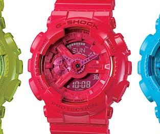 Casio G Shock Hyper Colors Watches