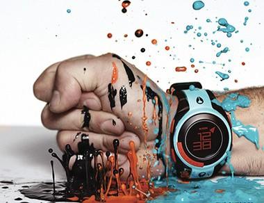 Đồng hồ màu sắc - Phụ kiện thời trang nam không thể thiếu
