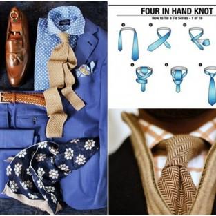 3 cách thắt cà vạt nam cực đơn giản