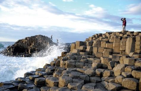Những phiến đá xếp kỳ diệu ở Giant's Causeway