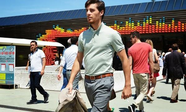 Bí quyết trở thành quý ông lịch lãm - áo polo