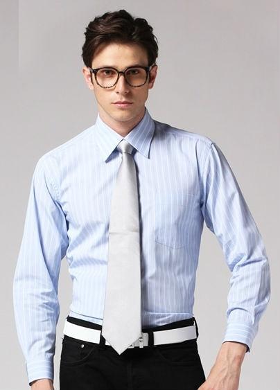 Bí quyết trở thành quý ông lịch lãm - áo sơ mi xanh