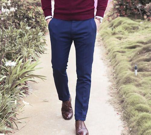 Bí quyết trở thành quý ông lịch lãm - quần jeans tối màu